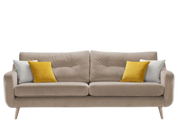 Mysofa Alfredo Extra Large Sofa, Furniture Throws For Large Sofas
