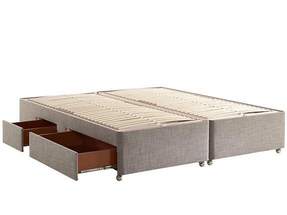 Hypnos Orthos Elite Wool Super King Size 6 0 Ottoman Storage Divan Bed