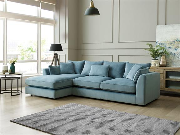 sports shoes aa371 40017 Mysofa   Jessie Large Right Hand Facing Chaise Sofa   Buy at ...