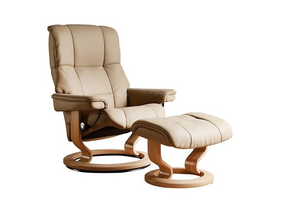 Stressless Mayfair Medium Recliner Chair With Classic Base Buy At Stokers Fine Furniture Southport Chester And Ormskirk