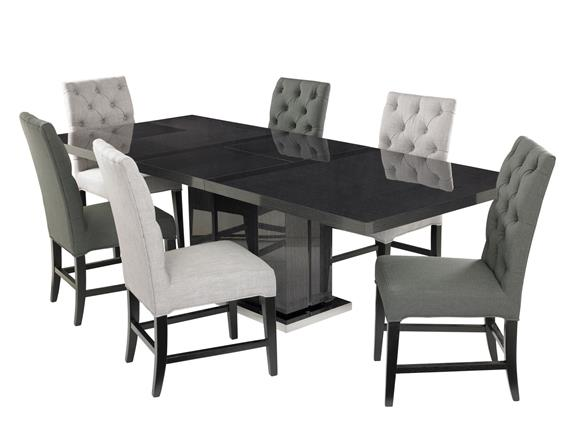 Dining Table U0026 6 Alfa Chairs Dove