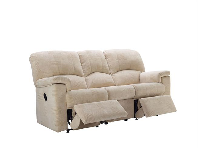 G Plan Chloe Fabric 3 Seater Recliner Sofa Double Buy At