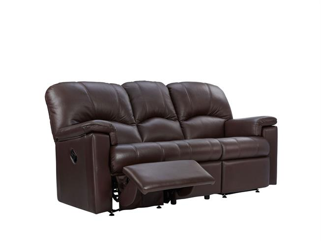 G Plan Chloe Leather 3 Seater Power Recliner Sofa Double Buy