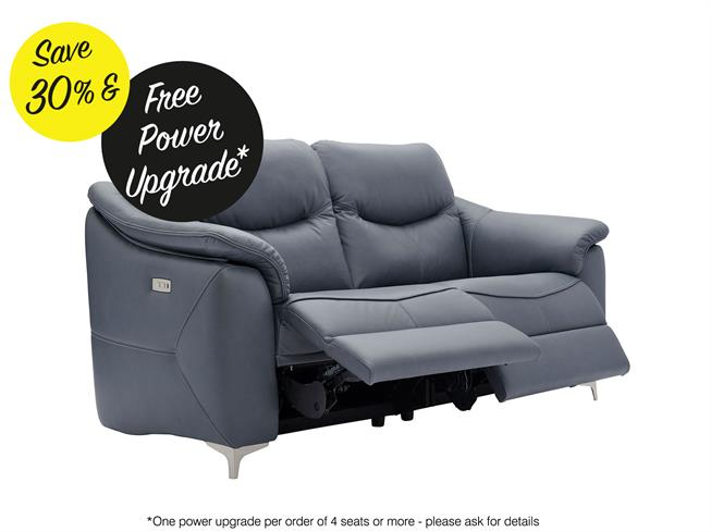 Enjoyable G Plan Jackson Leather 3 Seater Power Recliner Sofa Buy Bralicious Painted Fabric Chair Ideas Braliciousco