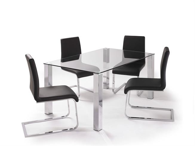 kante dining table with 4 chairs buy at stokers fine furniture