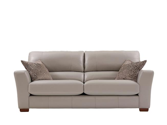 Malibu | Leather 4 seater sofa | Buy at Stokers Fine ...