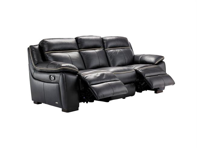 Buy Stratus Manual 3 Seater Manual Recliner Sofa