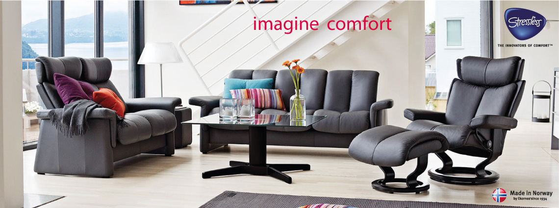 ekornes stressless recliners chairs and sofas buy at stokers