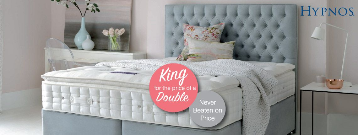 King size for the price of a double